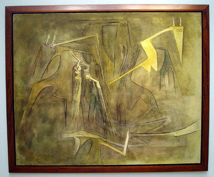 """Grand Composition"" by Wilfredo Lam"