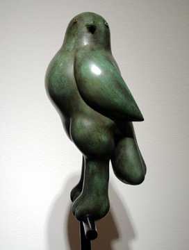 """Little Bird on a Perch"" by Botero"