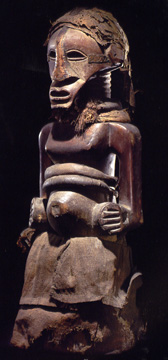 Songe male power figure, Kalebwe