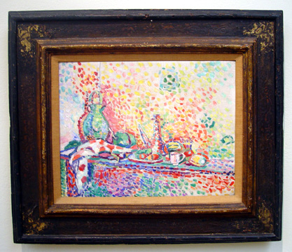 """Nature Morte au Purro II"" by Matisse"