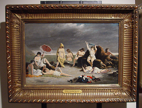"""Bathing Beauties on the Hudson"" by Inman"