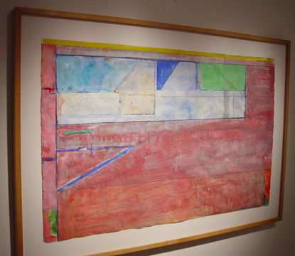 """Untitled (Ocean Park #26)"" by Diebenkorn"