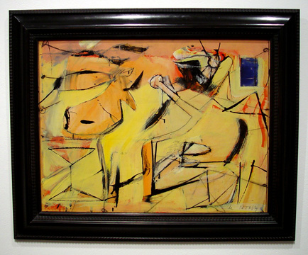 """Sail Cloth"" by de Kooning"