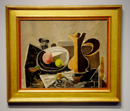 """Nature morte au pichet"" by Braque"