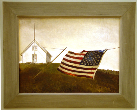 """Battle Ensign"" by Wyeth"
