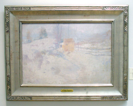 """Winter Harmony"" by Twachtman"