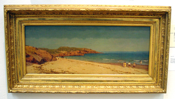 """Along the Beach, Cape Ann"" by Gifford"