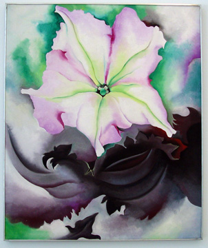 """Petunia and Colleus"" by O'Keeffe"