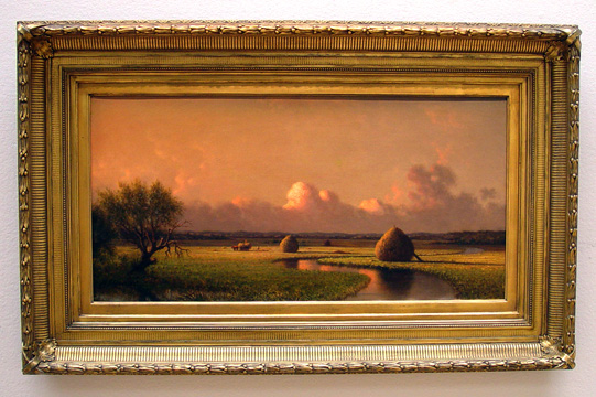 """Sunny Day on the Marsh..."" by Heade"