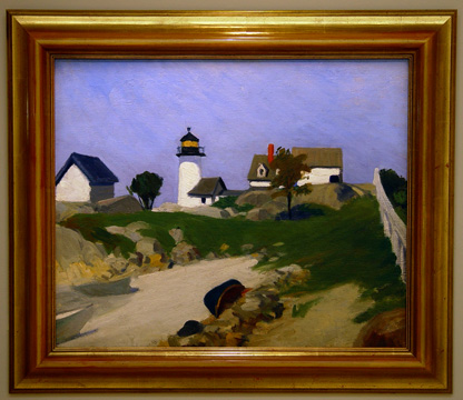 """Squam Light"" by Hopper"