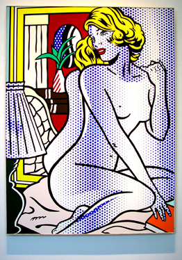"""Blue Nude"" by Lichtenstein"