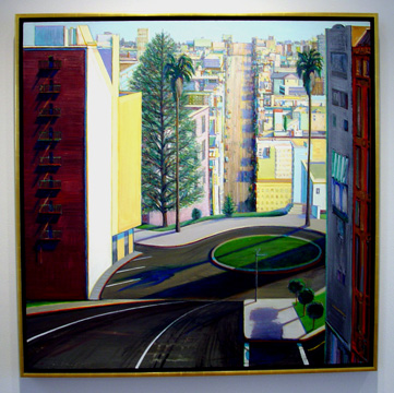 """Circle Street"" by Thiebaud"