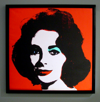 """Liz"" by Andy Warhol"