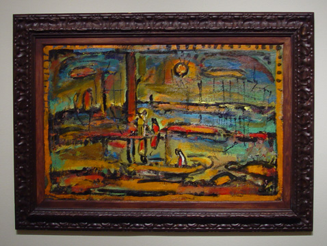 """Soleil Couchant"" by Rouault"