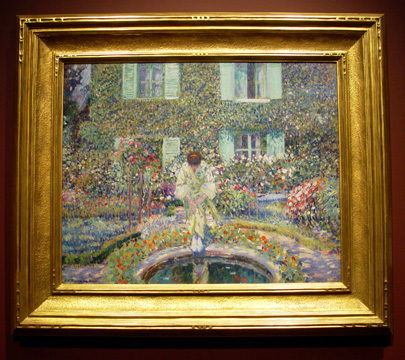 """The Garden Pool"" by Frieseke"