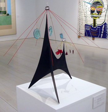 """Untitled (Carousel)"" by Calder"