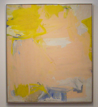"""Untitled"" by de Kooning"