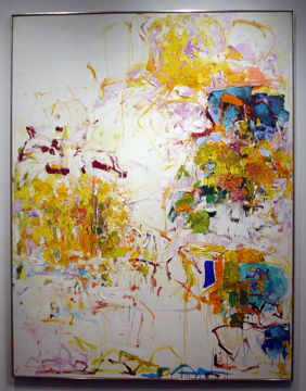 """Untitled"" by Joan Mitchell"