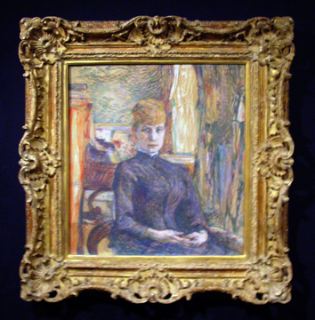 """Madame Juliette Pascal,"" by Toulouse-Lautrec"