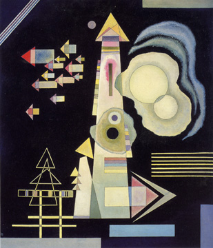 """Pfeile (Arrows)"" by Kandinsky"