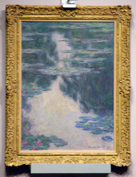 """Nymphéas, temps gris"" by Monet"