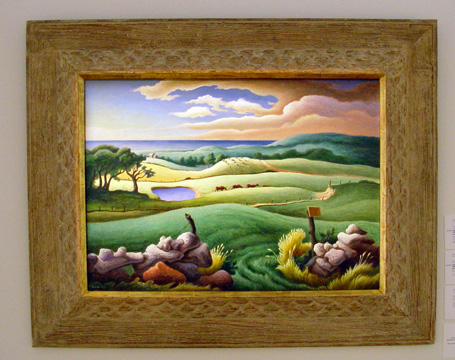 """Keith Farm, Chilmark"" by Benton"