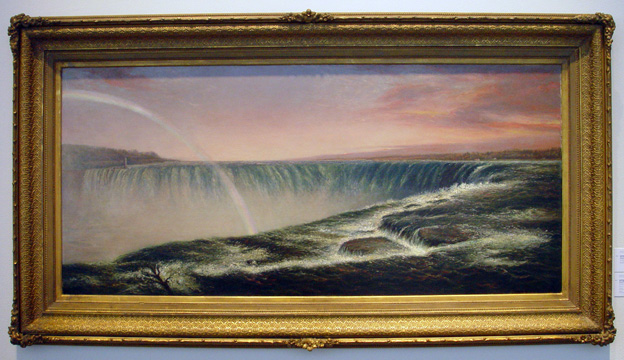 """Niagara Falls at Sunset"" by Brown"