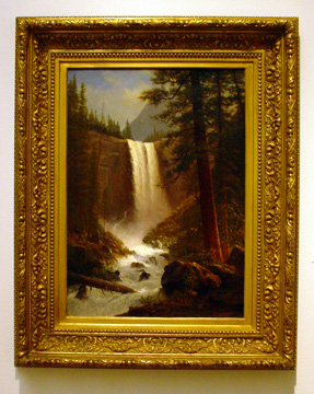 """Vernal Falls"" by Bierstadt"