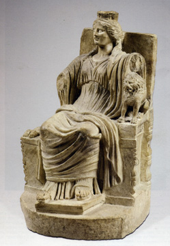 Kybele, marble, Roman Imperial