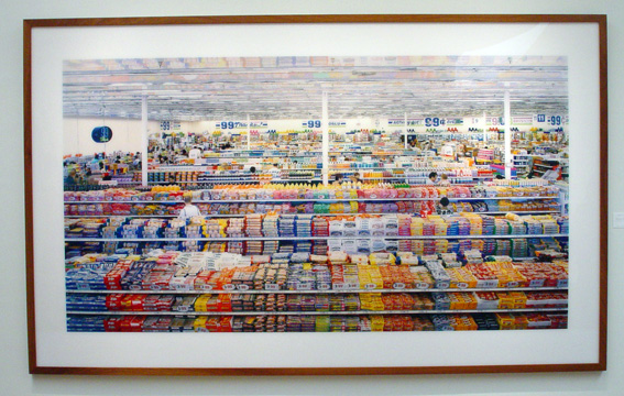 """99 Cent"" by Andreas Gursky"
