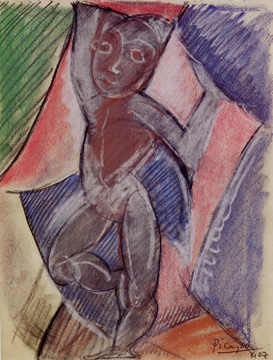 """Jeune Garcon Nu"" by Picasso"