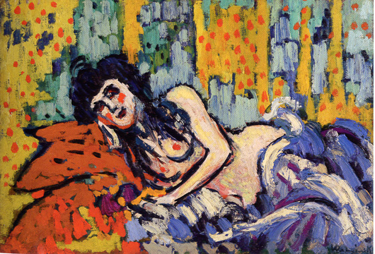 """La Fille du Rat Mort"" by Vlaminck"