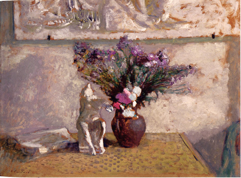 """Nature Morte Avec Leda"" by Vuillard"