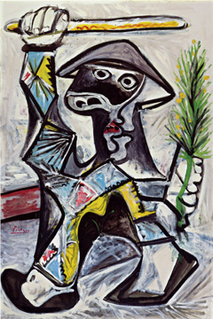 """Arlequin au Baton"" by Picasso"