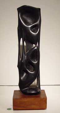 Untitled wood sculpture by Cardenas