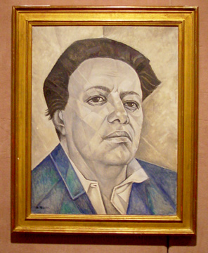 Portrait of Diego Rivera by Marevna