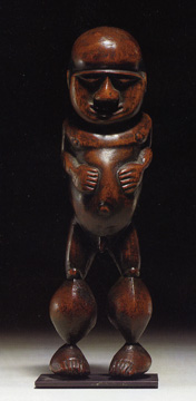 New Caledonian male figure