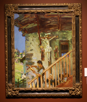 """A Tyrolese Crucifix"" by Sargent"
