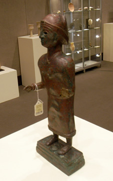South Arabian female figure
