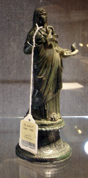 Roman figure of Hygeia