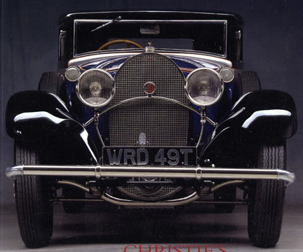 1931 Bugatti Type 49 two-door sports coupe