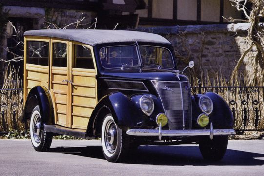1937 Ford Model 78 Deluxe Station Wagon