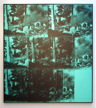 """Green Car Crash"" by Warhol"