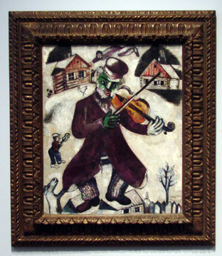 """Musicien"" by Chagall"