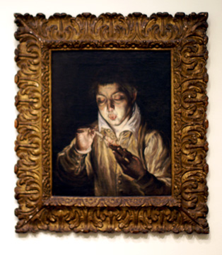 """Boy Lighting a Candle"" by El Greco"