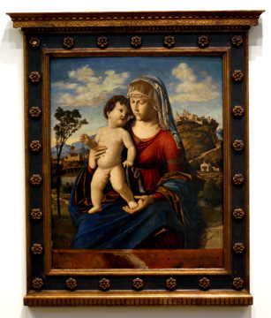 Madonna and Child by Cima