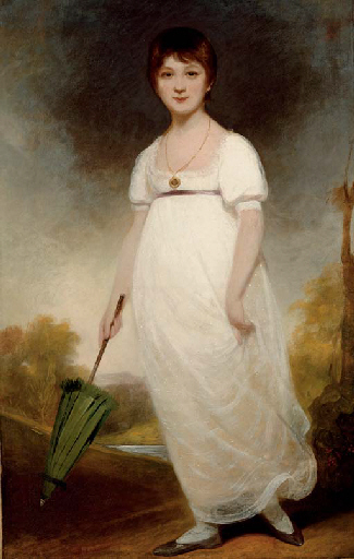 Portrait of Jane Austen by Humphry
