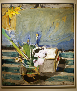 """Untitled (Still Life with Iris"" by Diebenkorn"