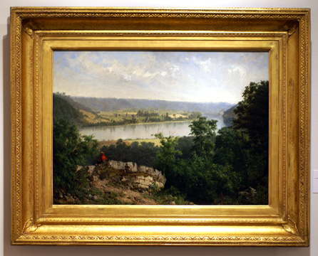 """Hudson River View"" by Wyant"