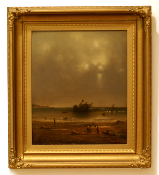 """The Old Shipwreck"" by Heade"